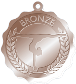 Bronze-Preschool Program Medals
