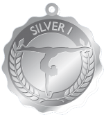Silve1-Preschool Program Medals
